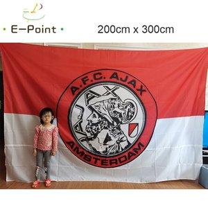 Netherlands AFC Ajax Amsterdam Flag All Big Size 3*5ft (90cm*150cm) Polyester EPL flag Banner decoration flying home & garden flag Festive