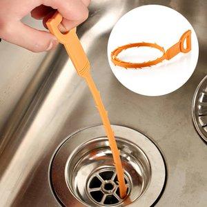 52cm Schlange Abfluss Weasel Haar Clog-Remover-Werkzeug Starter Kit für Rohrreinigungs Baby-Bad-Spielzeug mit Opp Paket CCA10086 600pcs
