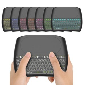 Original Backlight D8 S Mini Keyboard 2.4GHz Wireless Air Mouse Touchpad Controller for X96 TX3 mini S905W Android TV BOX