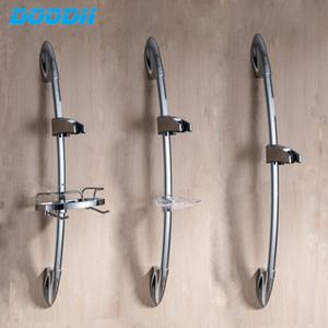 Duche Sliding cabeça Bar Shower slides barras de extensão banho Rail titular controle deslizante barra deslizante ajustável Ajuste a altura Doodii