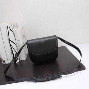 Ceinture de vente chaude dame sacs de selle en cuir véritable véritable un des sacs à rabat Shoulde Messenger bandoulière haute qualité