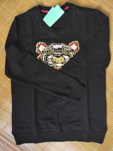 Tiger HauptHoodie gestickte Sweatshirts Pullover Hemden Pullover Herbst Frühling Unisex Pullover beiläufige Street High Quality