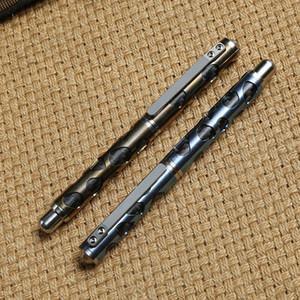sağkalım EDC aracı kalem Taktik Kalem kızın kurt geçirmez kendini savunma kalem pencere kırarak savunma malzemeleri alaşım Dicoria titanyum