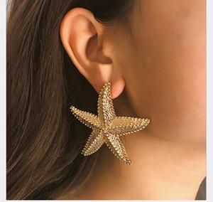 new Jewelry Fashion Creative Earrings Geometric Circular Personality Business Earrings Earrings