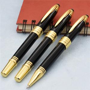 Роскошная серия John F. KENNEDY Gold Clip MB ручка Шариковая ручка-роллер с канцелярскими принадлежностями высокого качества