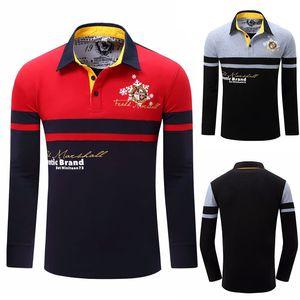 Shirts Mens Long Sleeved Casual Shirt Men's Big Size Shirts Men's Polo Shirt