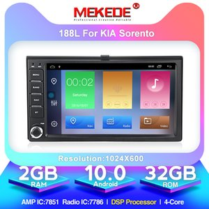 MEKEDE Android 10.0 Auto Multimedia-Player für KIA Carens Carnival Rio SPORTAGE SORENTO CERATO Optima Ceed 2008 Picanto Spectra Auto-DVD