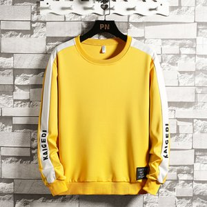 MANTLCONX Мужская толстовка с длинным рукавом Толстовка 2020 Spring Solid Color Толстовка Streetwear Толстовки Мужчины Hip Hop Outwear Tops