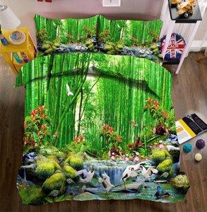 Literie 3d Housse De Couette Twin Full King Queen Bedsheet Duvet Bed Cover Pillowcase Bed Linen Housse De California King
