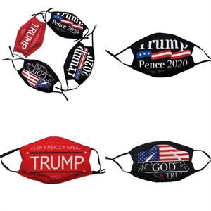Máscara Trump Rosto América Bandeira Nacional Respirador Pluggable Filtro Boca Mascarilla Windbreak protecção respiratória Unisex Boa 3 5zc E2