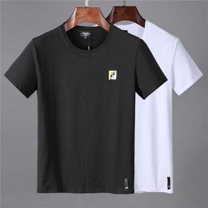 Famosa Mens Designers maglietta Polo Lettera delle donne degli uomini di stampa brevi di modo del manicotto Mens Stylist casuale girocollo T Dimensioni LOL