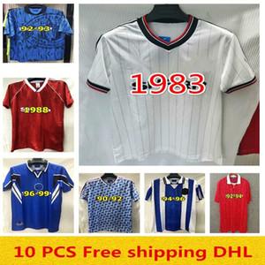 Ücretsiz nakliye Robson Hughes McClair RETRO MANCHESTER 1990 1992 UNITED FUTBOL shirt Vintage futbol formaları MAN UTD Camiseta Sharpe Paul