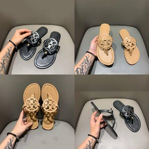 New European And American Trendy Men'S Slippers, Flip-Flops, Metal Clamps, Flat Bottom, Anti-S Comfortable Slippers, 2020#521