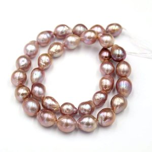 10-12mm 33PCS Natural Irregular Baroque Freshwater Pearl Loose Beads for DIY Fine Making Jewelry Finding T200507