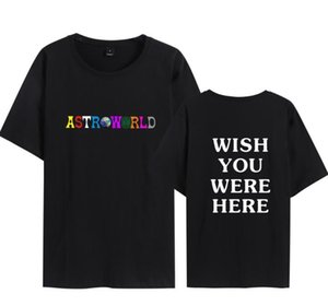 Astroworld Designer Mens Tshirt Men Summer Hommes T shirts Design Harajuku Skateboard Tops Hoodies
