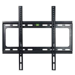 Hot 3C-Slim Low Profile Tv montaggio a parete staffe schermi LED LCD al plasma 28 32 34 25 37 42 48 50 55 60 pollici, bolla magnetica