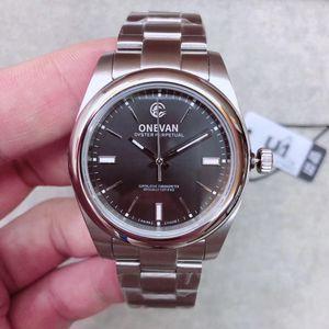 U1 Facotry Excellent Herrenmode Armbanduhren 4 Farbe 114300 DRSO Dunkel Rhodium Dial 39mm Uhr Mint Condition 2813 Uhrwerk Automatik