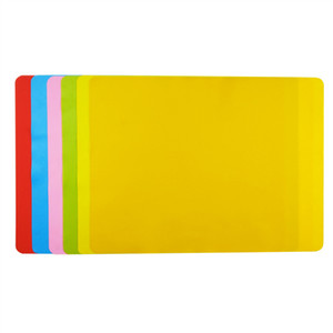 Silicone Pad Baking Table Mat Heat Insulation Placemat Square Multicolor Commodity Safety No Deformation Vegetables Fruits 3 8qf D2