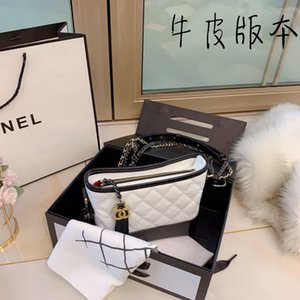 Women's high-end Single shoulder bag Selected hardware chain decorated with elephant pattern synthetic leather shoulder bag 030506