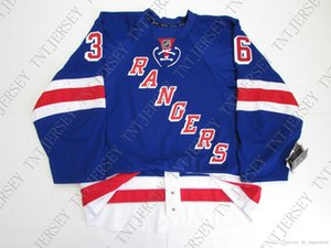 Cheap custom MATS ZUCCARELLO NEW YORK RANGERS HOME JERSEY stitch add any number any name Mens Hockey Jersey XS-5XL