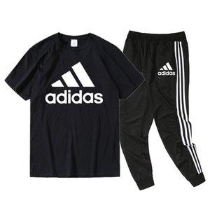 adidås mens designer t shirts Men Running Tracksuit Sweat Suits see Autumn Mens Fashion Jacket Pants Sets Sporting Suit Print men sportswear
