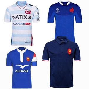 새로운 스타일의 2019 2020 프랑스 슈퍼 럭비 유니폼 18 19 20 프랑스 셔츠 럭비 타이츠 드 발 프랑스어 BOLN 럭비 셔츠 사이즈 S-5XL