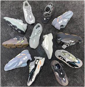 2020 Wave Runner 700 Blush Desert Rat Salt 700V2 White Black Jogging Shoes Kanye West Men's Women's Sneakers Free Shipping