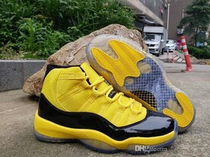 2020 new Big Kid Mens Basketball Shoes Bumblebee Yellow Black Trainers Sports Sneakers Reverse Ferrary Jumpman des 89898