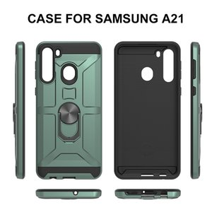 Ring With Bracket Function Protection Phone Case For Samsung A21S A21 A51 A71 A31 A11 A21 A01