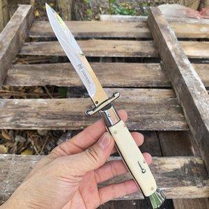 10-дюймовый итальянской мафией Автоматический нож 440 стальной лист + смола Ручка Открытый EDC тактические ножи