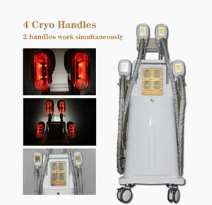 Ce Cryolipolysis Vakum ile Yağ Yakma Taşınabilir Yağ Terapisi Makinesi Dondurucu Dondurucu Tech Fat Soğuk Kriyoterapi