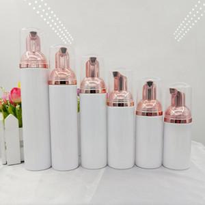 10pcs Plastic Foamer Pump Bottle Refillable Empty Cosmetic Bottle Cleanser Soap Dispenser Foam Container 30ml