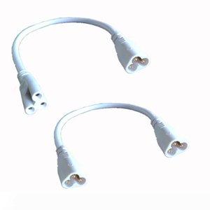 T5 T8 lâmpada de ligação de fios 20 centímetros Macho-Macho Macho-fêmea LED integrado cabo tubo de cabos podem ser ligadas, por Tubo LED suporte da lâmpada soquete encaixes