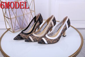 21SS luxurious Pointed Heels Fashion Low Heel Shoes Elegant Shoes For Woman Party Shoes Chaussure Mariage Femme Buty Damskie Size 34-41