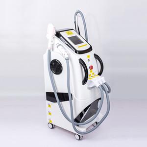 Envío libre 3 en 1 máquina de eliminación de tatuajes con láser + pico + RF 360Magneto-óptico OPT mejor SHR Depilación máquina de pigmentación 2000w