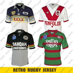 Retro Rugby Jersey 1989 South Sydney Rabbitohs 1991 1995 Cowboys Penrith Panthers 1979 Dragons maillots ligue de rugby 4XL 5XL
