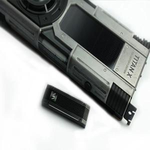 FUXK M.2 Kühlkörper aus Aluminium NVME SSD Heatsink Cooler MS01 Silber Schwarz Kühlkörper Kühl