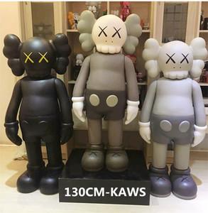 1.3M Originalfake KAWS 4FT Door god Prototype Companion Figure With Original Vinyl KAWS Large Action Figure Perfect design model decorations