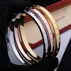 New Products Bracelet Top Titanium Steel Bracelet for Couple Personality Bracelet Fashion Accessories Supply Box