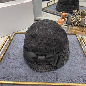 Denim bow tie fisherman hat designer scarf bucket hat hats baseball cap cap women designer scarves silk designer head scarf