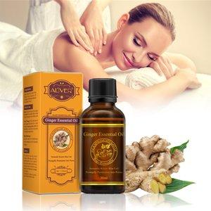 30ml Hot Vente Pure Plant Huile essentielle de gingembre Huile de Massage Essentiel thermique gingembre Huile Corporelle pour Grattez Balnéothérapie TSLM1