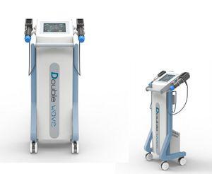 Zwei Sonden arbeiten gleichzeitig Cellulite Reduction Maschine Elektromagnetische Stoßwellen-Therapie TFOR Erektile Dysfunktionsgewicht reduzieren
