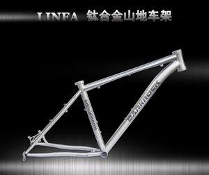 """Açık -sale !!! DARKROCK linfa Titanyum Çerçeve Mtb Bisiklet Çerçeve Titanyum Alaşım 16"""" 17"""" 18"""" Dağ Bisikletleri 26er"""
