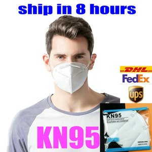 kn95 العرض مصنع قناع حزمة البيع بالتجزئة 95٪ قناع مرشح قابلة لإعادة الاستخدام 5 طبقة مضادة الغبار واقية مصمم قناع الوجه الفم أقنعة لا صمام