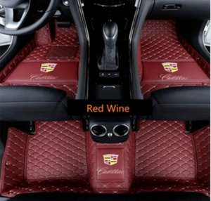 Fit Cadillac Escalade 2008-2020 Luxurious waterproof carpet floor mat Waterproof Waterproof Pad Car Mat Carpets Non toxic and inodorous floo
