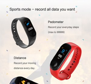 Amazon Hot Selling Fast Dispatching IP67 Waterproof Sport M3 Plus Band Bluetooth Smart Watch Heart Rate Fitness Tracker Bracelet Wristband