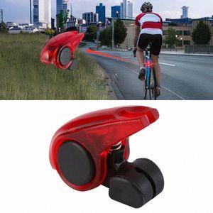 Tragbare CYCLE ZONE Mini Brems Fahrrad-Licht-Berg Schwanz hinten Fahrrad-Licht-wasserdichte hohe Helligkeit rote LED Lampe Sicherheitswarnung WXuD #