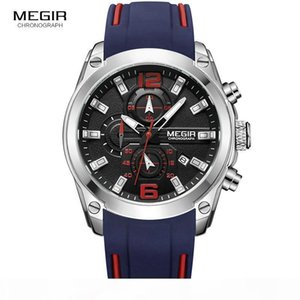 E 2018 Men &#039 ;S Fashion Quartz Watch With Date ,Luminous Hands ,Waterproof Silicone Rubber Strap Wrist For Man