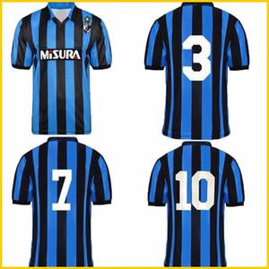 1988 1989 Brehme Bergomi Matthaus retro camiseta de fútbol Inter 88 89 Berti Klinsmann Zenga Serena vendimia clásica camisa de fútbol