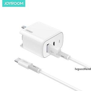 JOYROOM 30W Fast Charger parete Caricabatteria con domestico portatile di viaggio Cavo USB L-QP301 Power Adapter spina per Iphone Samsung